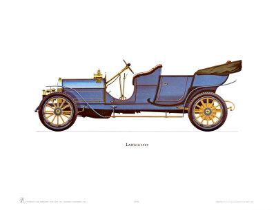 1909 Lancia Prints