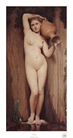 The Spring Prints by Jean-Auguste-Dominique Ingres