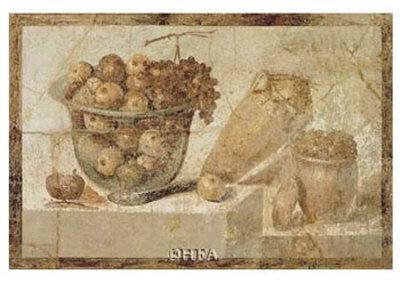 Roman Fresco Kunstdruck