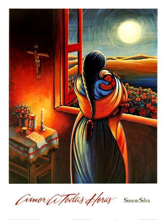 Amor a Todas Horas Plakater af Simon Silva