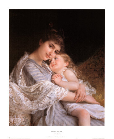 Maternal Affection Prints by Emile Munier at AllPosters.