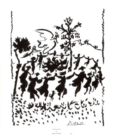 Vive la Paix Posters by Pablo Picasso