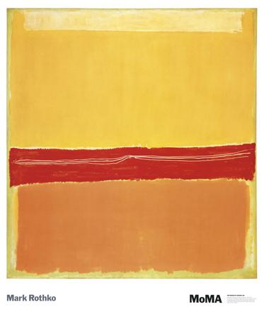 Nummer 5 Kunst van Mark Rothko