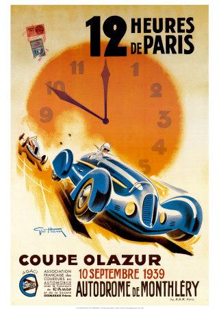 12 Heures de Paris Art by Geo Ham