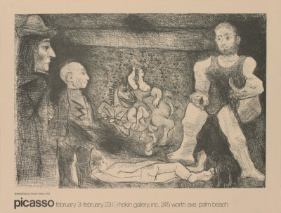 Etchings from the 347 Posters by Pablo Picasso