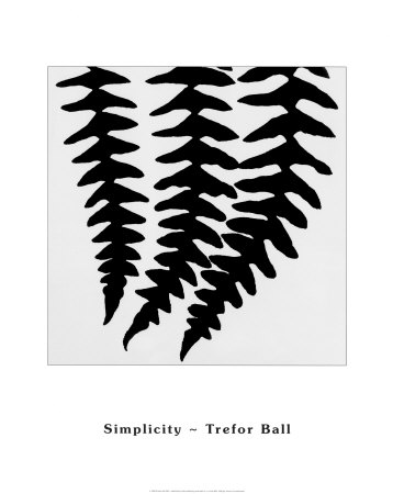 Simplicity Art by Trefor Ball