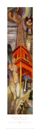 Eiffel Tower Poster by Robert Delaunay