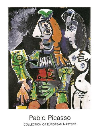 Matador e Femme Nue, 1970 Posters by Pablo Picasso