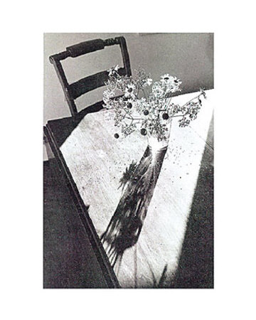 Flowers on Table Prints by Lilo Raymond