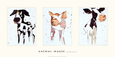 Animal Magic Poster by Kate Moore