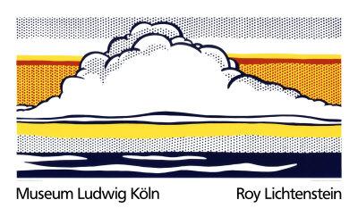 Cloud and Sea, 1964 Serigraph by Roy Lichtenstein