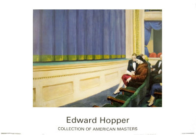 First Row Orchestra Art by Edward Hopper