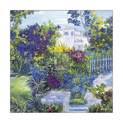 Maison Sur la Cote d'Azur Prints by T. Forgione