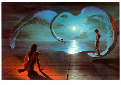 Wings of Love Affischer av S. Pearson