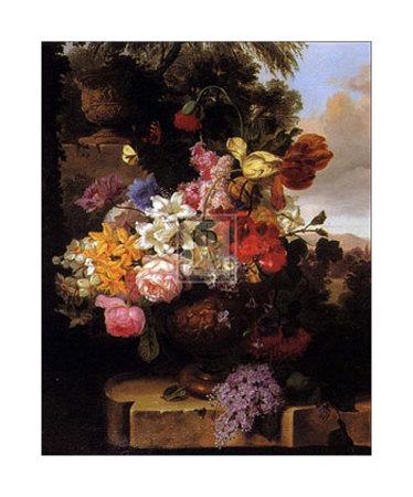 Stately Garden II Art by John Wainwright