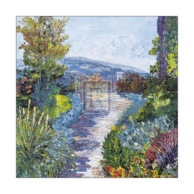 Le Jardin Fleuri Posters by T. Forgione
