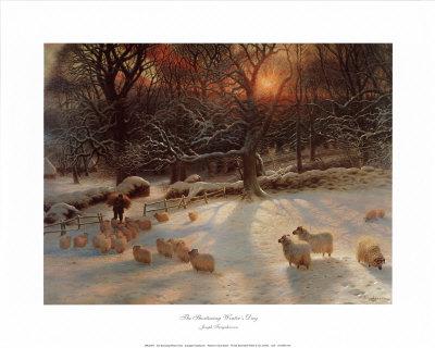 The Shortening Winter's Day Art by Joseph Farquharson