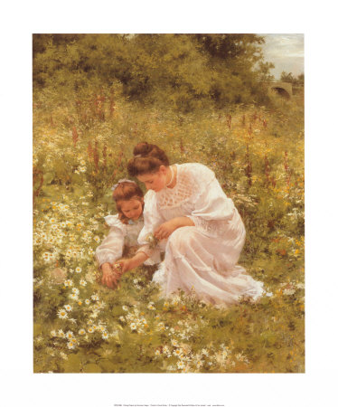 Picking Daisies Posters by Hermann Seeger