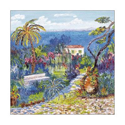 Un Coin de Paradis Prints by T. Forgione
