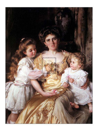 Mother's Love Poster by Thomas B. Kennington