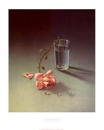 Weeping Rose Art by Vladimir Tretchikoff