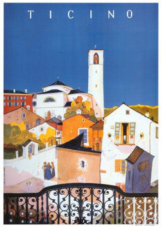 Ticino Poster by Daniele Buzzi