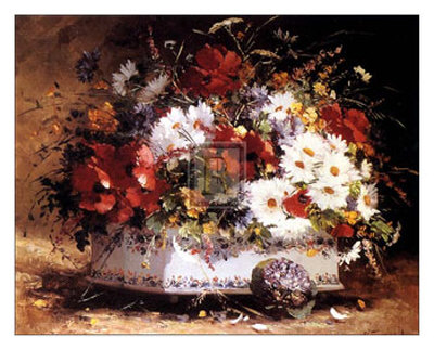 Still Life of Spring Flowers Prints by Eugene Henri Cauchois