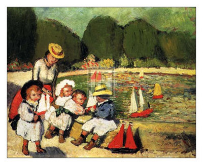 Les Tuileries Prints by Pablo Picasso