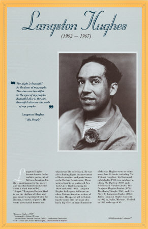 American Authors of the 20th Century - Langston Hughes Prints