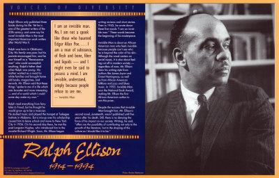 Voices of Diversity - Ralph Ellison Prints