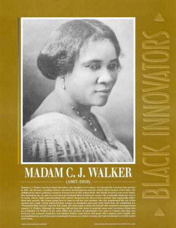 Great Black Innovators - Madame C.J. Walker Prints