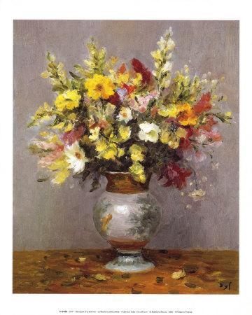 Bouquet d'automne Art by Marcel Dyf