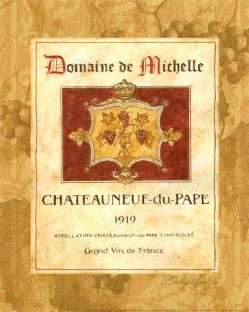 Chateauneuf du Pape Prints by Pamela Gladding