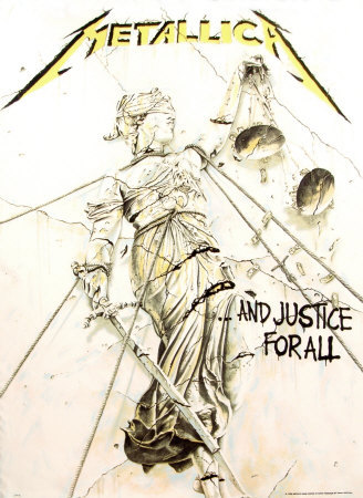 Metallica - Justice for All Affiches en tissu