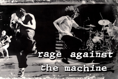 Rage Against the Machine Stofplakat