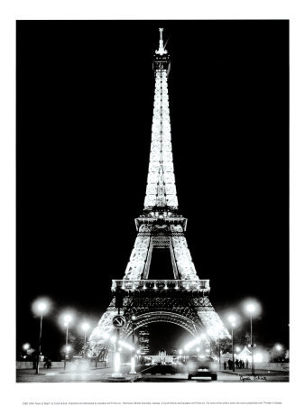 Nighttime Eiffel Tower Pictures on Eiffel Tower   Rainbooow   Blogcu Com