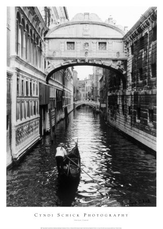 Canal de Venise Reproduction d'art