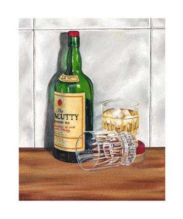 Scotch on the Rocks I Giclee Print by Jennifer Goldberger