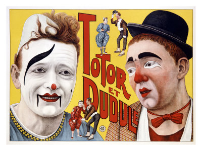 Totor et Dudule Giclee Print
