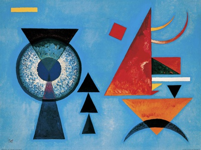 Weiches Hart Posters by Wassily Kandinsky
