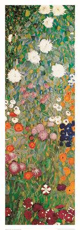 Ogród kwiatów, detal Reprodukcja