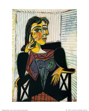 Portrait of Dora Maar, c.1937 Art Print