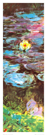 Water Lilies (detail) Art Print