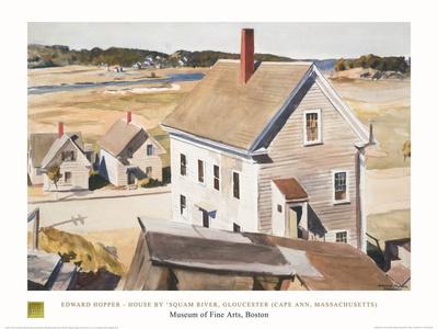 House By 'squam River, Gloucester (cape Ann, Massachusetts), 1926 Prints by Edward Hopper