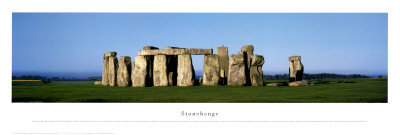 Stonehenge Reproduction d'art