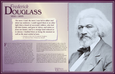 Writers Who Changed the World - Fredrick Douglass Art