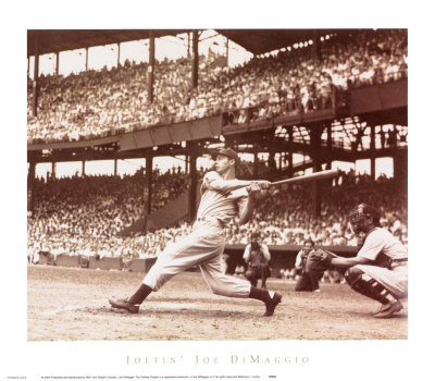 Der große Joe DiMaggio Kunstdrucke