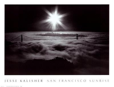 San Francisco Sunrise Poster by Jesse Kalisher