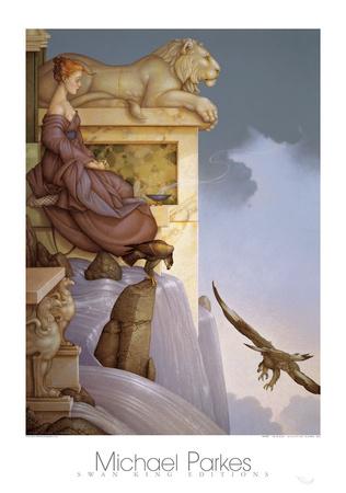 Water Prints by Michael Parkes