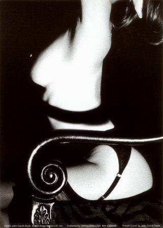 French Curve Prints by John Carroll Doyle